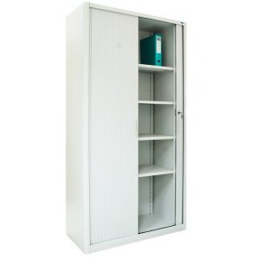 Stationery cabinet SHKG-10r with roller shutter doors