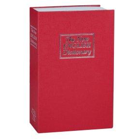 Сейф-книга, Англійська словник TS 0309M з кодовим замком