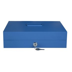 Металева коробка кешбокс TS812 з ключовим замком