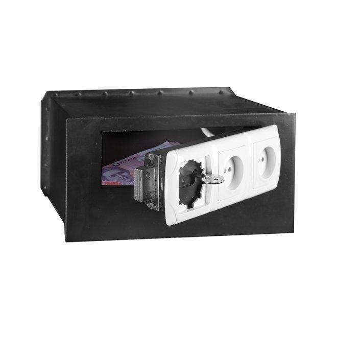 Міні-сейф схованка на 3 розетки