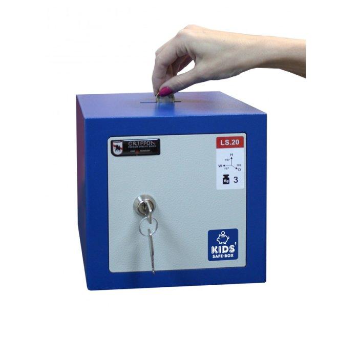 Сейф меблевий Griffon LS.20.K Blue скарбничка