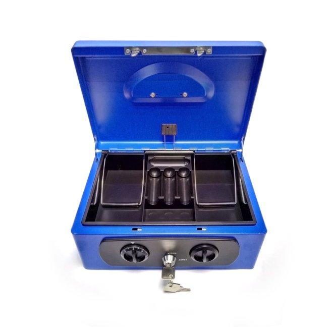 Металева коробка для грошей з відділеннями TS8827