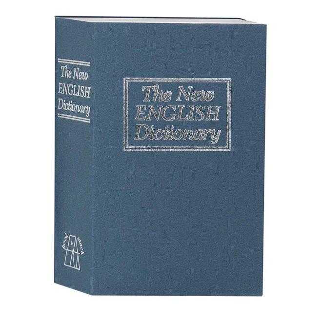 Сейф книга, коробка Англійська словник TS 0209 ключ