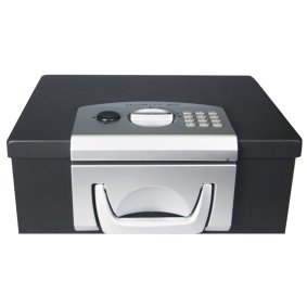 Portable box with electronic lock TS 0006