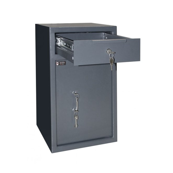Сейф депозитний Griffon RD.60.K.K з ящиком для вкидання купюр