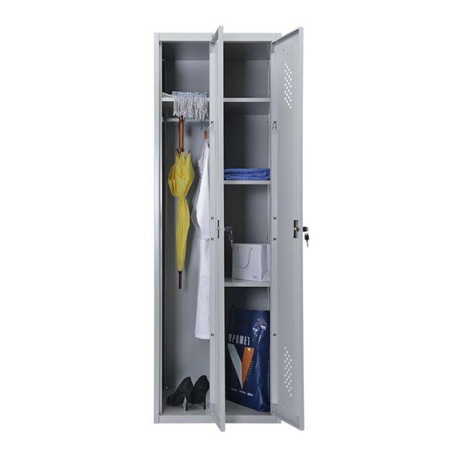 Практик LS-21U - металева шафа для роздягальні