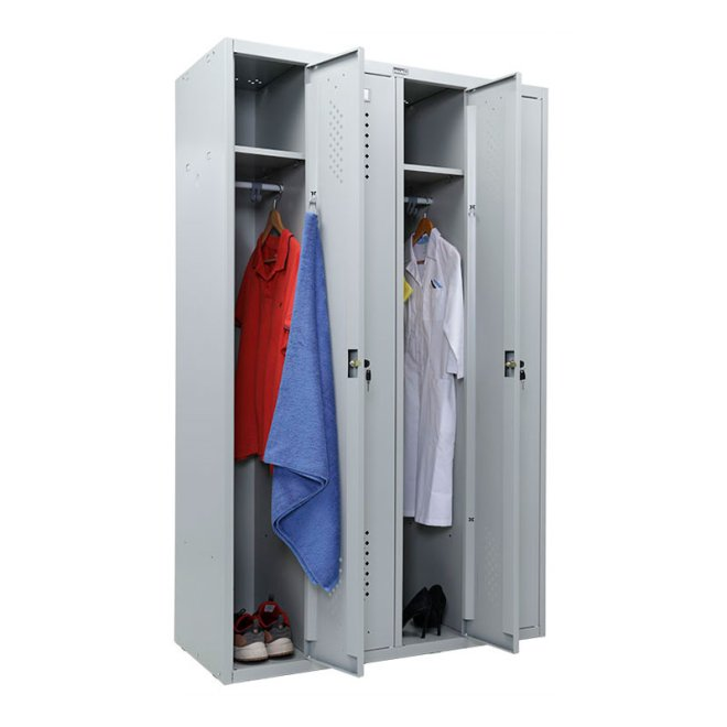Практик LS-41 - металева шафа для роздягальні
